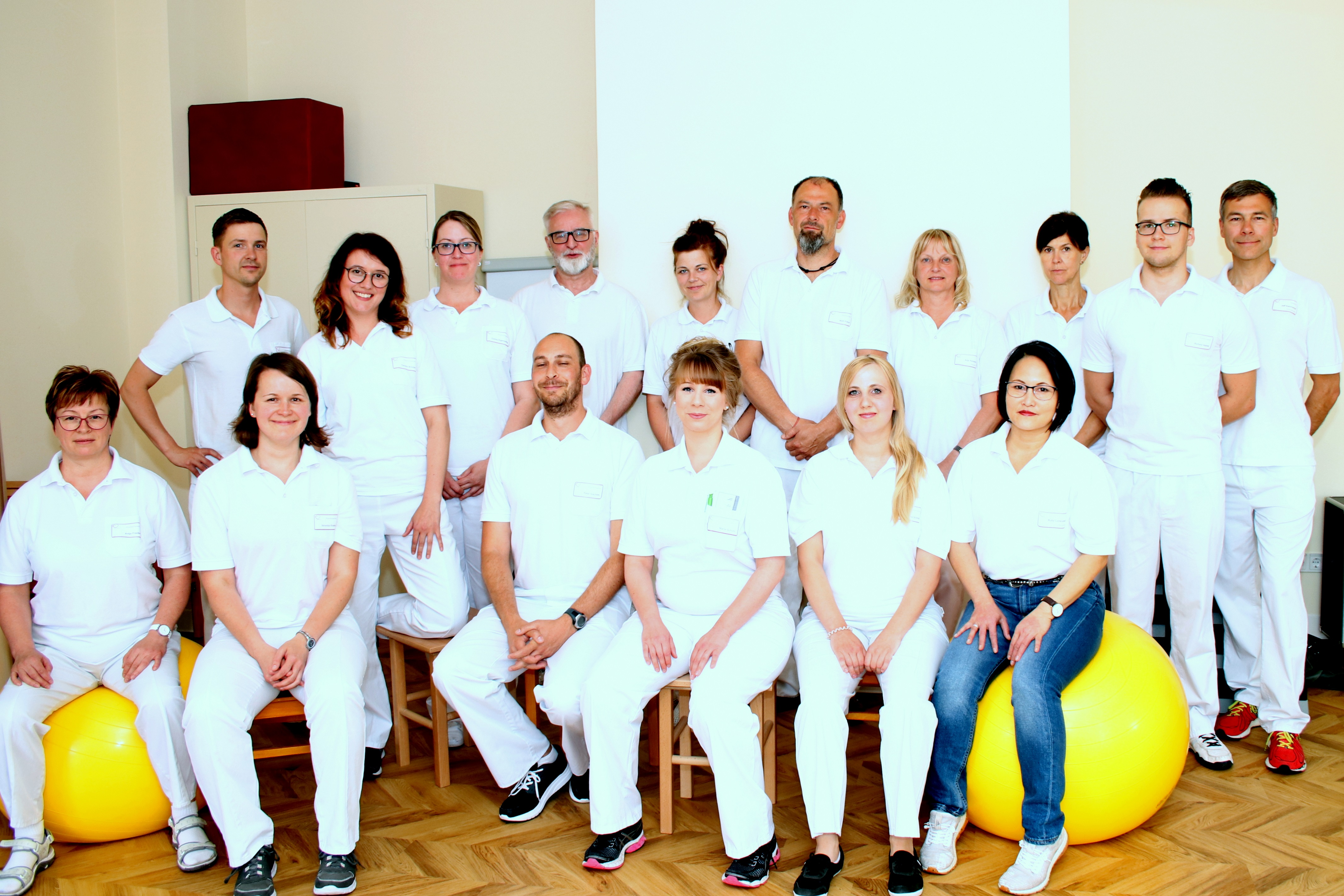 Team Physiotherapie Ambulante Rehabilitation Rehasport